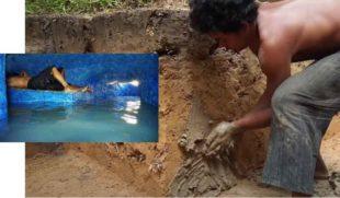 Как камбоджийцы строят потрясающие объекты при помощи простейших инструментов