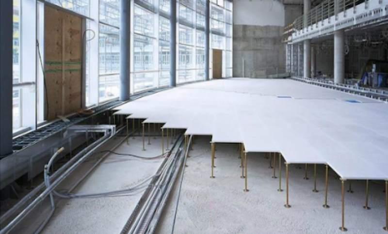 Гипсоволокно используют для разных помещений, потому что материал влагоустойчивый.