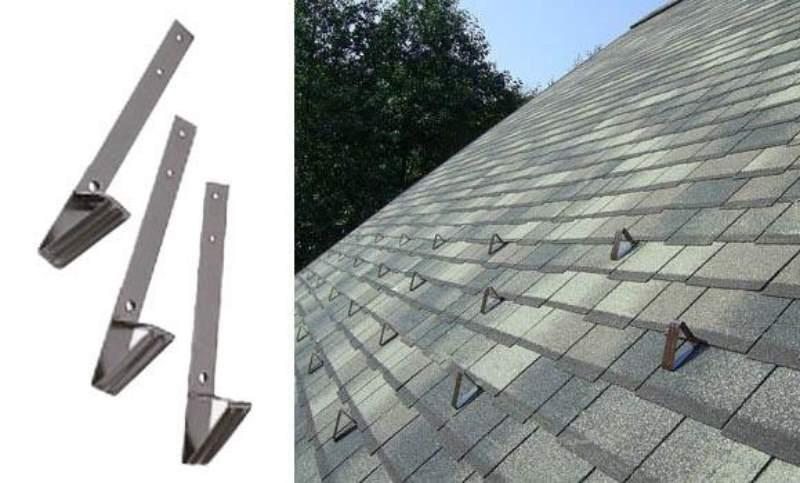 Материал получает тепловую энергию и от внутренних частей здания
