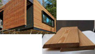 Фасадный планкен: свойства, область применения и монтаж