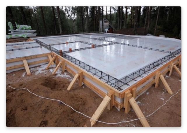 Заливка бетона и покупка